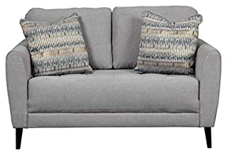 Signature Design by Ashley - Cardello Contemporary Upholstered Loveseat, Pewter (B07CJWQ46Q) | Amazon price tracker / tracking, Amazon price history charts, Amazon price watches, Amazon price drop alerts