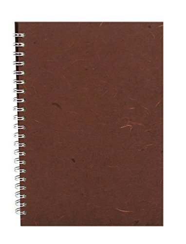 Ping Pik Silk Ameleie - Cuaderno para acuarelas (A4, formato vertical), color marrón chocolate