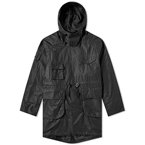 Barbour x Engineered Garments Cowan Wax Jacket Black-S