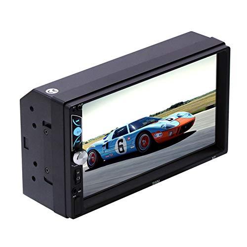strimusimak Pantalla del coche Bluetooth MP5 alta definición video reproductor de audio Radios Carplay 7 pulgadas pantalla para coche conductor relajante