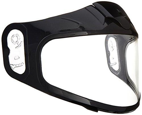 HJC Helmets 836-364 Unisex-Adult Full-Face-Helmet-Style CR-05 Dual Lens Shield Helmet (Clear, One Size)