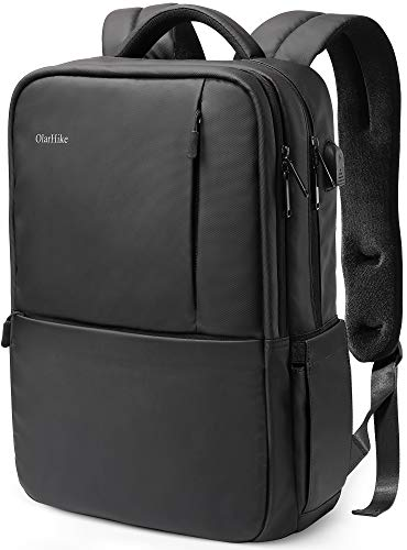 OlarHike Laptop Backpack with USB Charging Port and Thick Padded Sleeve Water Resistant College...