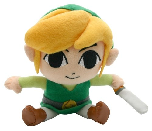 Bandai Namco - Peluche Link / Zelda Small, 18 cm