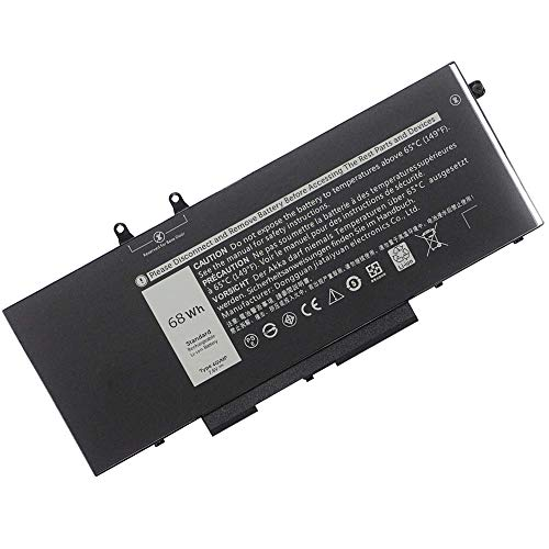 4GVMP Laptop Battery Replacement for Dell Latitude 5400 5410 5500 5510 Precision 3540 3550 Inspiron 7590 7591 7791 2-in-1 Series 1V1XF R8D7N RF7WM 9JRYT 09JRYT 0X77XY 0C5GV2 (7.6V 68Wh)