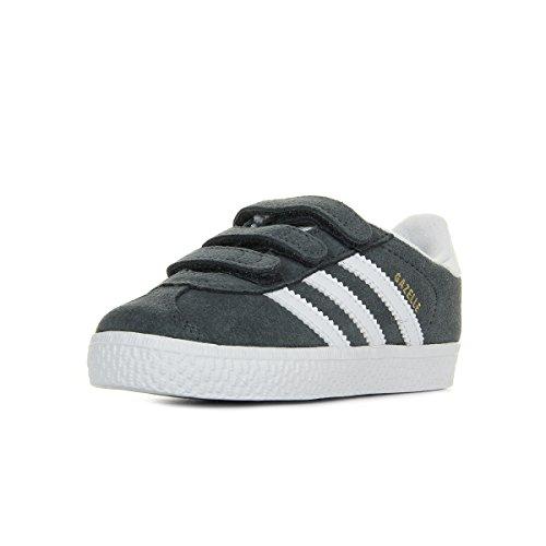 Adidas Gazelle CF I,  Zapatillas Unisex bebé,  Solid Grey Cloud White Cloud White,  26 EU