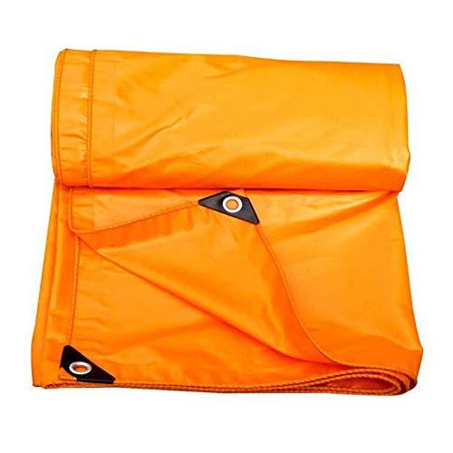 Zhuan - Cubierta impermeable para piscina (18 tamaños disponibles: naranja, tamaño: 5 x 5 m)