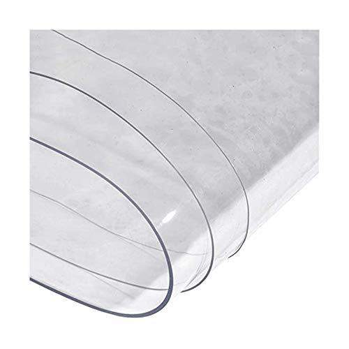 GDMING Impermeable Lonas- Tarea Pesada PVC Hoja De Lona con Ojales, Transparente Dividir El Plastico Cortina Impermeable, Personalizable (Color : Claro, Size : 1.6x3m)