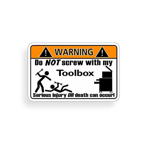 toolbox warning decals - 8