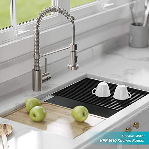 Kraus Kore 32-inch Workstation Undermount 16 Gauge Stainless Steel Kitchen Sink