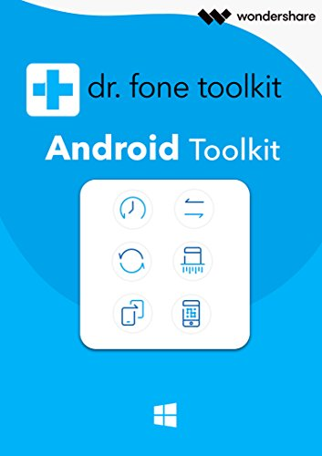 Dr.Fone Android Toolkit - Alle Module- 1 Jahr Lizenz Win (Product Keycard ohne Datenträger)