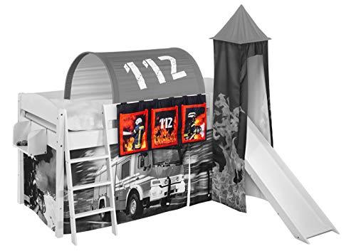 Lilokids Hängetaschen Feuerwehr - für Hochbett, Spielbett und Etagenbett