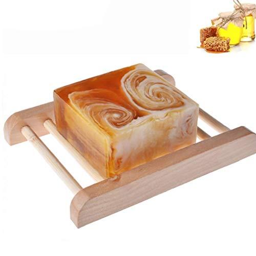NaisiCore Barras Hechas a Mano con Leche Ingredientes Honey All Natural Organic Honey sin Aroma de aceites Esenciales Barra hidratante para Uso Diario joyería para Las Mujeres