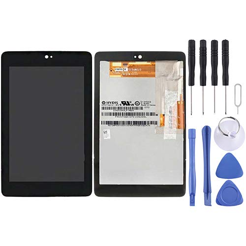 Zhoutao Pantalla LCD telefónica Pantalla LCD + Panel táctil para ASUS Google Nexus 7 Piezas de Repuesto del teléfono