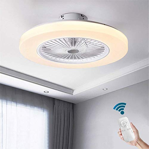 N / A Ceiling Fan with Light, 72W Modern Ceiling Fan Remote, 3 Speeds and 3 Colors Changing, Color Changeable 3000K-6000K, Silent Ceiling Fan, Living Room, Bedroom, Children's Room Ceiling Ligh.