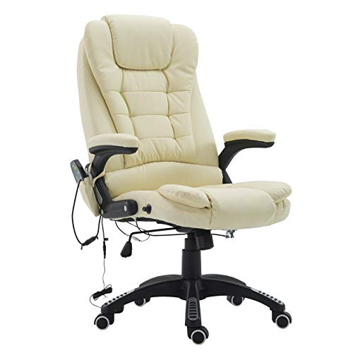 Our #4 Pick is the Homcom High Back Massaging Office Chair