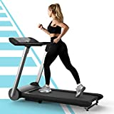 OVICX Folding Portable Treadmill Commercial Treadmills for Home Exercise Machine for Small Spaces with LED Display