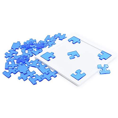 Puzzle Jigsaw Super Difícil Burning Serie Cerebro Auto-masoquista Sólo 29 Piezas del Rompecabezas De Plástico Acrílico, Adecuado For Su Uso Mayor De 12 Años 0627