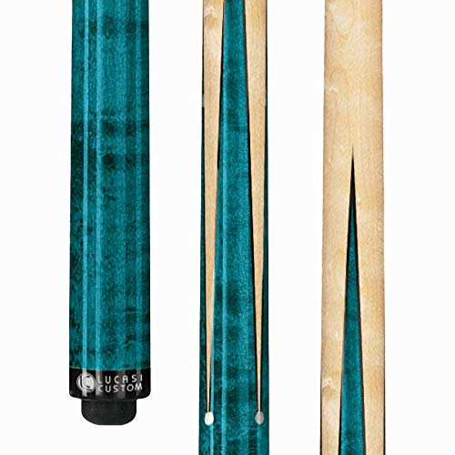 LUCASI LZ2000SP Custom Sneaky Pete Pool Cue Stick with Zero Flexpoint Low Deflection Shaft & Uni-loc Quick Release Joint