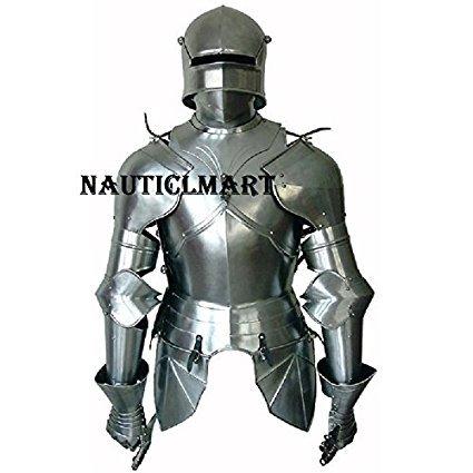 Medieval gtico traje de armadura - Disfraz de armadura usable - Disfraz de Halloween - Tamao personalizado
