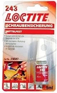 243 - Fijador de rosca (resistencia media, 5 ml) Loctite 243 -- 557.42.15 - Fijador de tornillos (resistencia media)