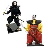 Baoblaze 2 Pedazos Muñecas Japonesas de Geisha Kokeshi Decoración de Hogar de 12...