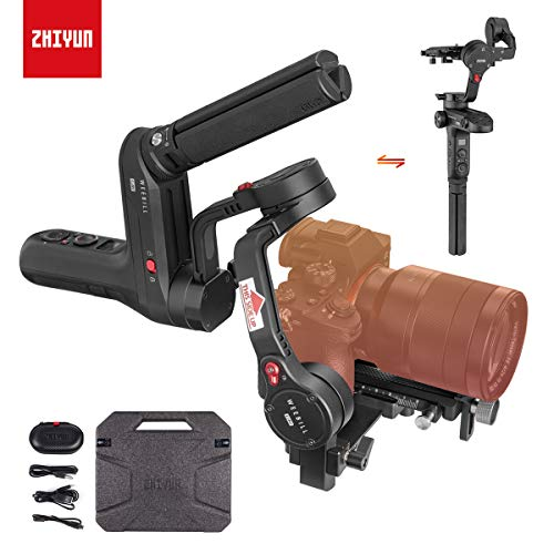 Zhiyun WEEBILL LAB 3-Axis Gimbal for Mirrorless and DSLR Cameras Like...