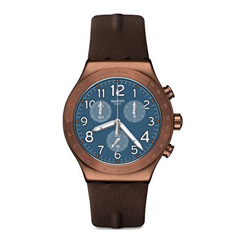 Reloj Swatch Irony Chrono YVC100 Back TO Copper