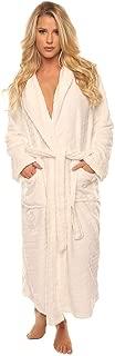 Luxurious Women's Long Sleeve Ultra-Soft Plush Polyester Robe 3360