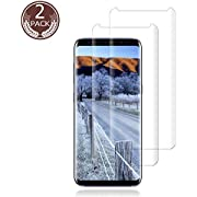 [2 Pack] Galaxy S9/S9plus Screen Protector 9H Hardness Ultra Clear Tempered BBInfinite Glass Screen Protector Compatible Samsung Galaxy S9
