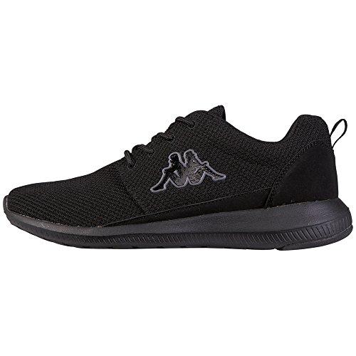 Kappa Unisex-Erwachsene Speed II Oc XL Sneaker, Schwarz (Black/Grey 1116), 47 EU