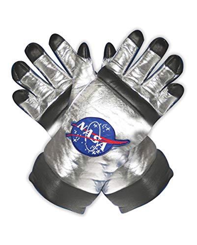 Horror-Shop NASA Astronauten Handschuhe als Kostüm Accessoire