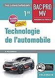 Technologie de l'automobile 1re Bac Pro MV (2020) Pochette élève