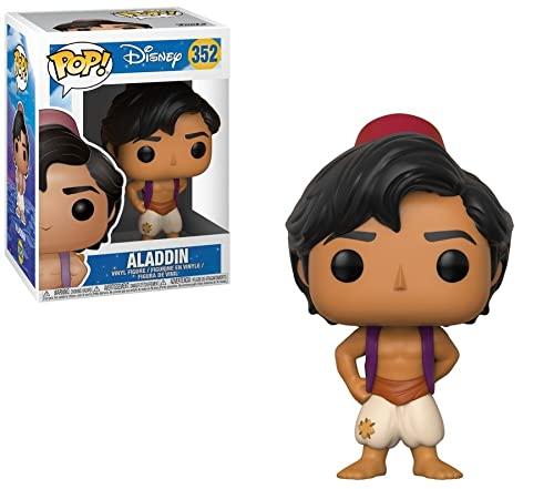 Funko Pop!- Disney Princess Aladdin Figura de Vinilo (23044)
