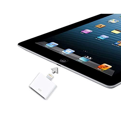 F13 Lightning auf Dock Connector Anschluss Adapter kompatibel mit Apple iPhone 5 / iPod Touch 5, Adapter von 8-polig auf 30-polig, Passend für das iPhone 5, iPod Touch 5, iPod Nano 7