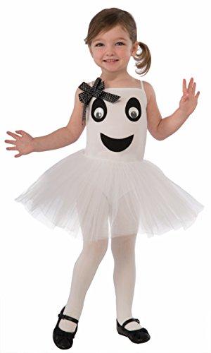 Forum Novelties X75190bella ballerina fantasma bambino del vestito, XS