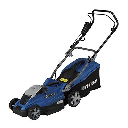 Hyundai HY-LM3601E Cortacésped Eléctrico 1600w, 230 V, azul