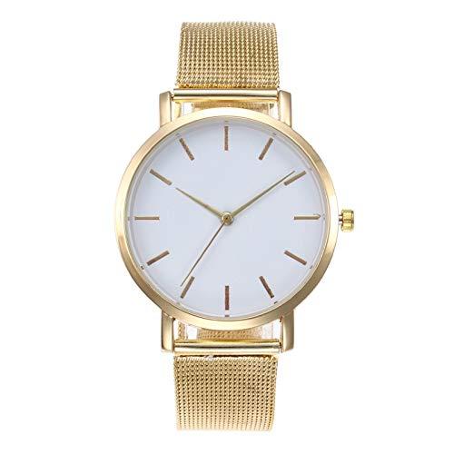 SHOUB Moda Donna Orologi personalità Romantico Cinturino in Oro Rosa Orologio da Donna Orologio da Donna Orologio Reloj Mujer Zegarek Dami