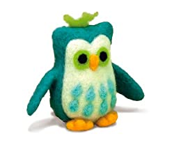Needle Felted Owl Kit