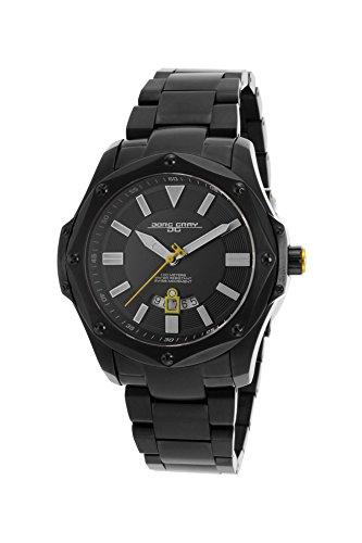 Jörg Gray JG9100–23–Herren Schweizer Uhr, Datumsanzeige, Saphirglas, Edelstahl Armband