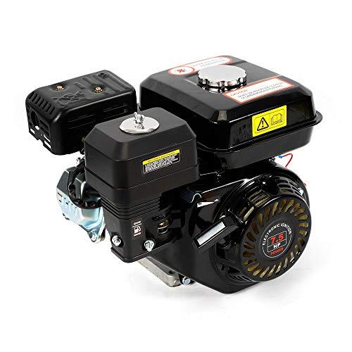 Motor de gasolina de 4 tiempos Yunrux, motor de 5,1 kW, motor de kart, 7,5 HP, color negro