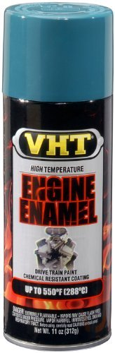 Auto Supply Mall VHT SP126 Engine Enamel Early Chrysler Blue Can - 11 oz. Color: Early Chrysler Blue, Model: SP126, Car & Vehicle Accessories/Parts