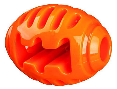 Trixie 33515 Soft & Strong Rugby, TPR, 10 cm, orange