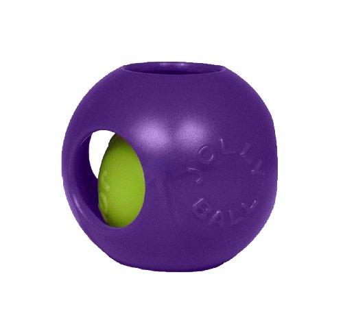 Jolly Pets Jouet pour Chien Balle Teaser - Taille M - 15 cm - Violet (1506 PR)