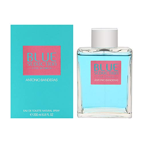Antonio Banderas Blue Seduction Spray 6.8 Oz / 200 Ml for Women
