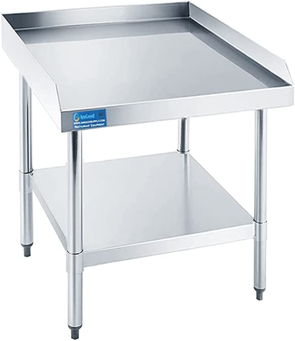 Fashionable AmGood Stainless Max 53% OFF Steel Equipment Stand - Commercial Heavy Duty