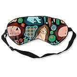 Southwest Baby Wolves Augenschutz Schlafende Augenbinde Polyester Eyeshade Eye Cover