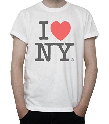 I Love New York Mens T-Shirt XX-Large