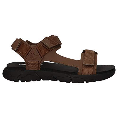 Timberland Sandalen für Herren A1VVY Windham Dark Brown Schuhgröße 43