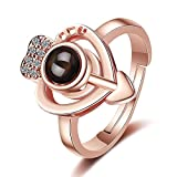 100 Languages I Love You Ring Can be used as two different rings. Projects I love you in 100 different languages.