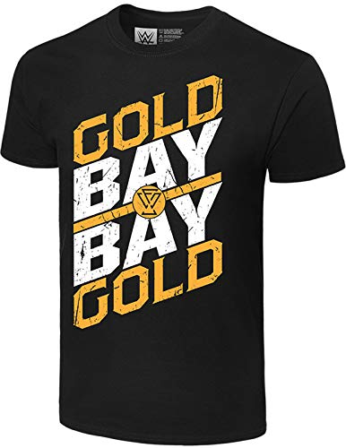 Adam Cole WWE Gold Gold Bay Bay Official Authentic T-Shirt